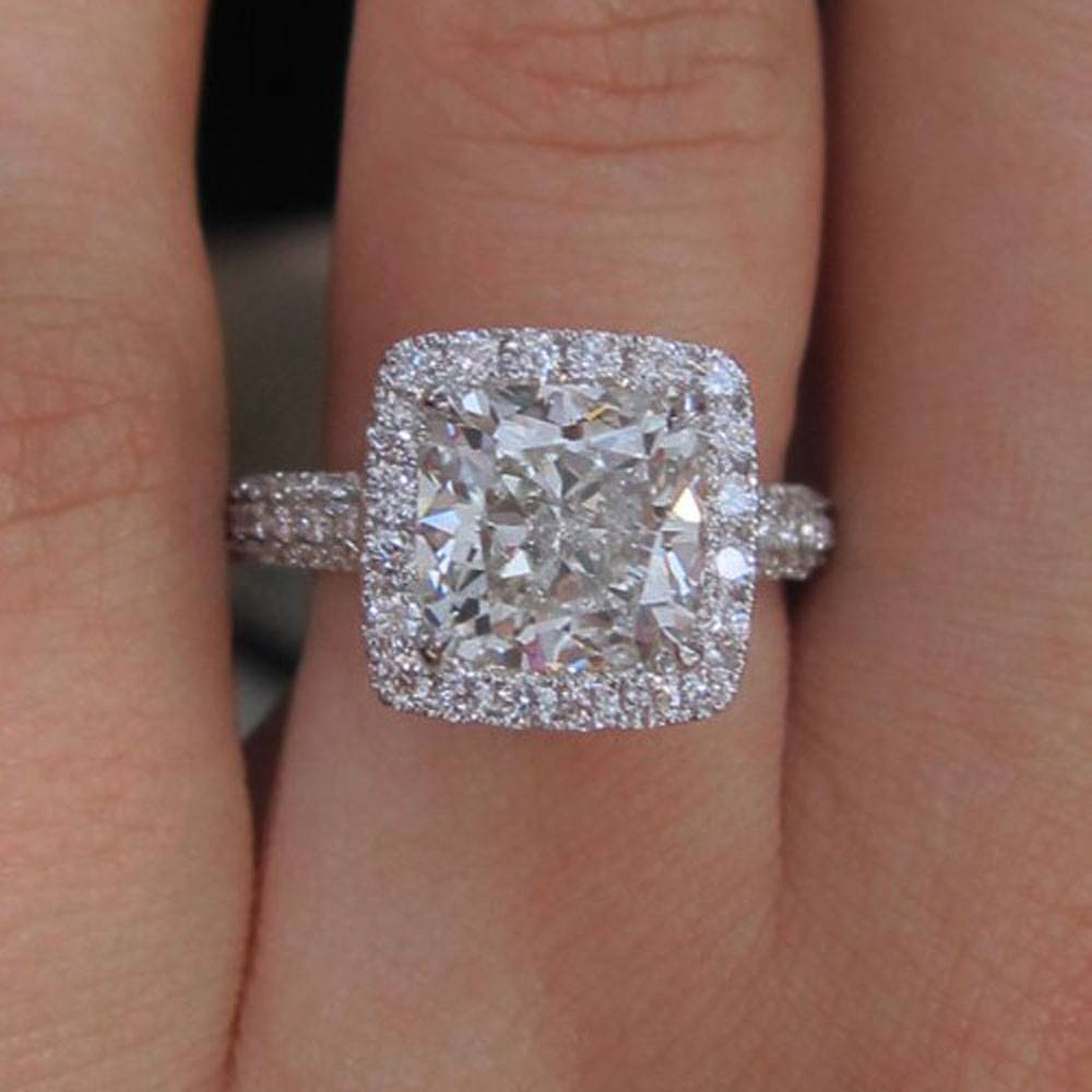 Enhancing The Look Of A Diamond With Engagement Ring Mounts Only: – Regarding Engagement Mounts (View 6 of 15)