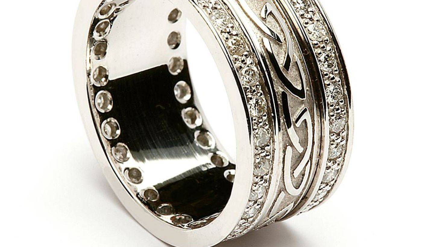 Enjoyable Graphic Of Wedding Rings Bands For Women As Of Wedding Intended For Irish Wedding Bands For Women (View 10 of 15)