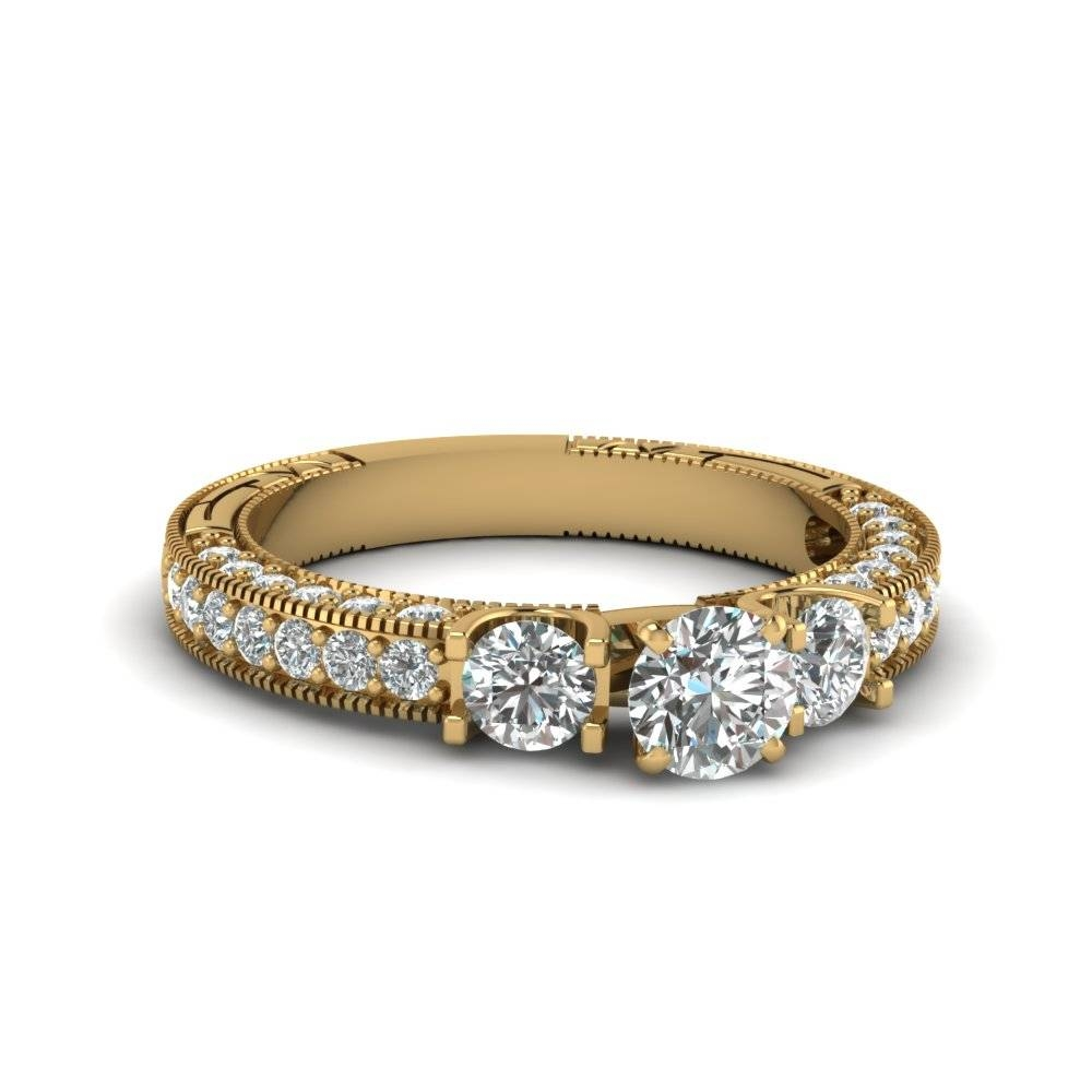 Exclusive Vintage Diamond Engagement Rings | Fascinating Diamonds Regarding Antique Diamond Wedding Rings (View 9 of 15)