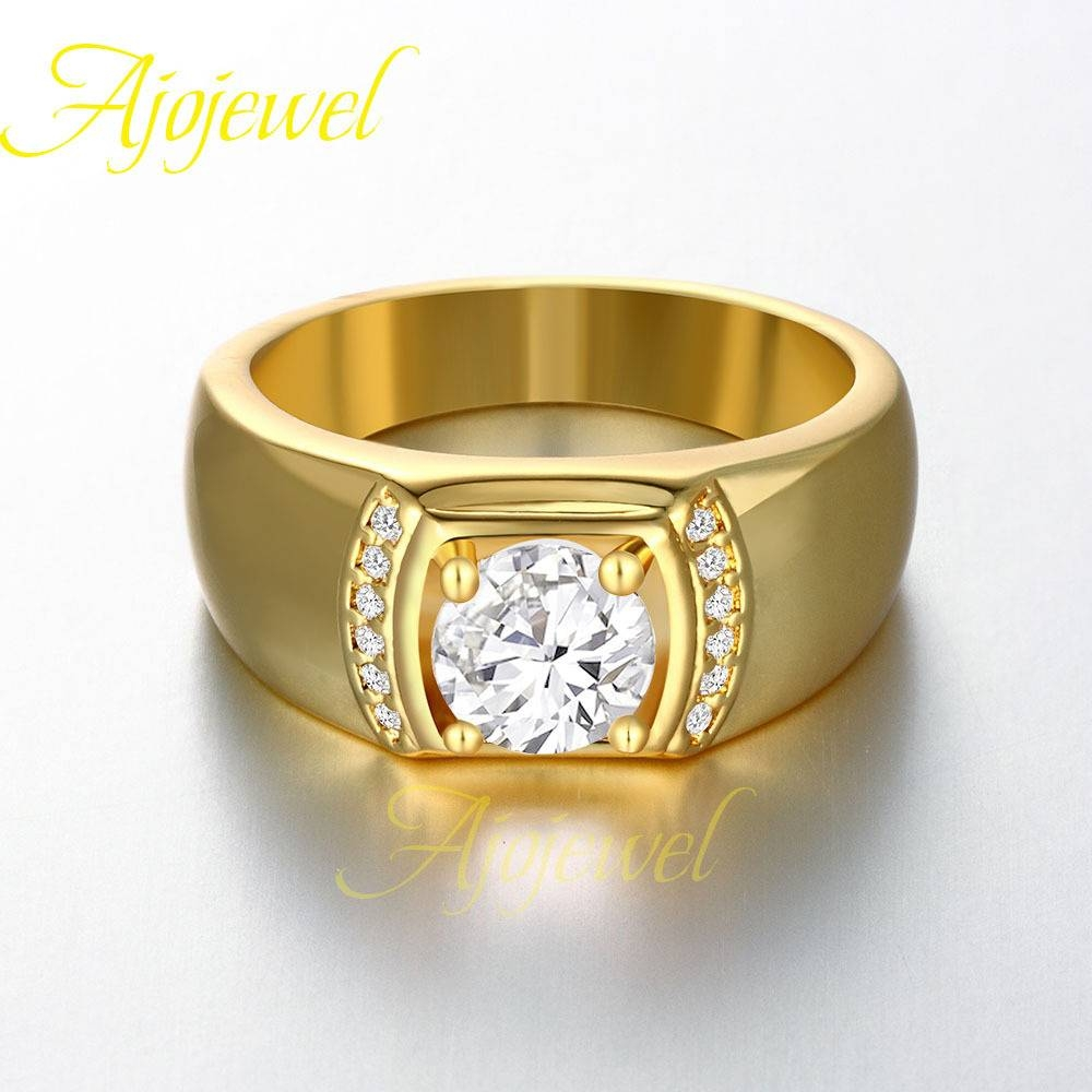 Exquisite Wedding Rings: Mens Engagement Rings In Gold Inside Gold Male Engagement Rings (Gallery 12 of 15)