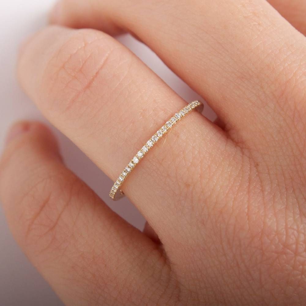 Fairy Light Eternity Band, White Diamonds – Catbird Throughout Eternity Band Wedding Rings (View 4 of 15)