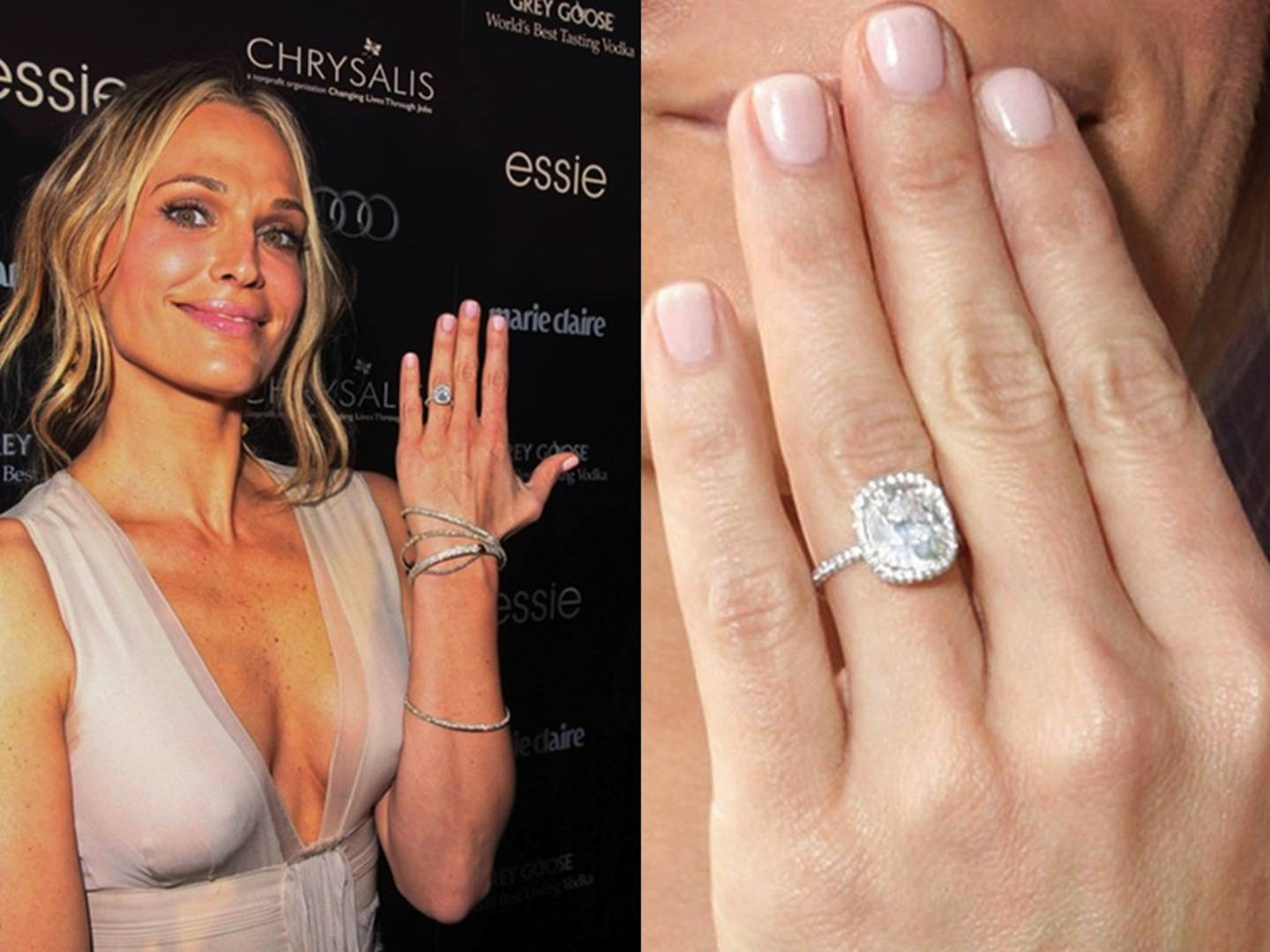 Famous Cushion Cut Engagement Rings | Ritani Throughout Molly Sims Wedding Rings (Gallery 1 of 15)