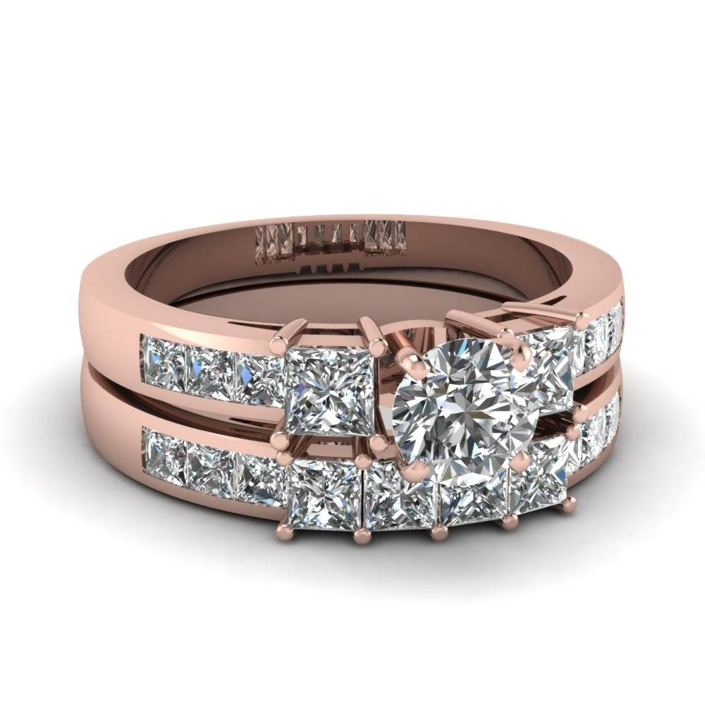 Fascinating Diamonds For Engagement Trio Sets (View 11 of 15)
