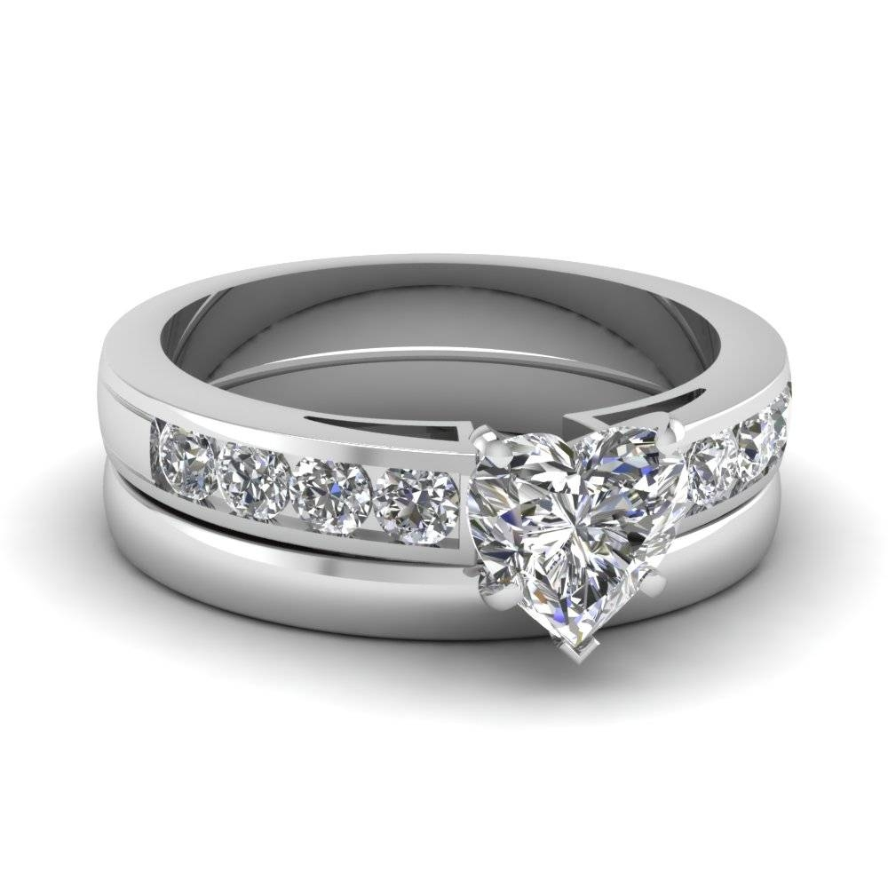 Fascinating Diamonds In Diamond Engagement And Wedding Rings Sets (View 7 of 15)