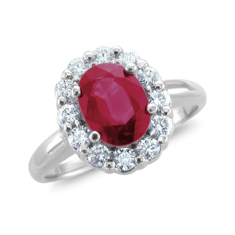 Favorite Ruby Engagement Rings Australia Tags : Engagement Rings With Regard To Ruby Diamond Wedding Rings (View 4 of 15)