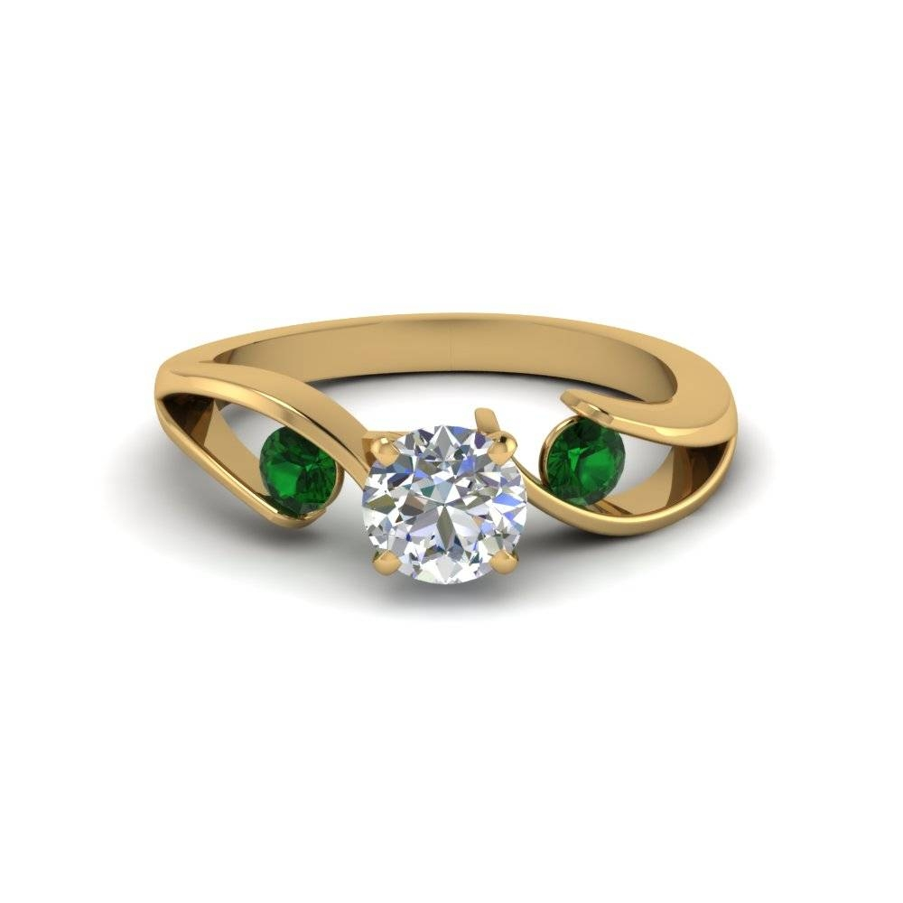 Find Our Emerald Engagement Rings | Fascinating Diamonds In Engagement Rings Emeralds (View 8 of 15)