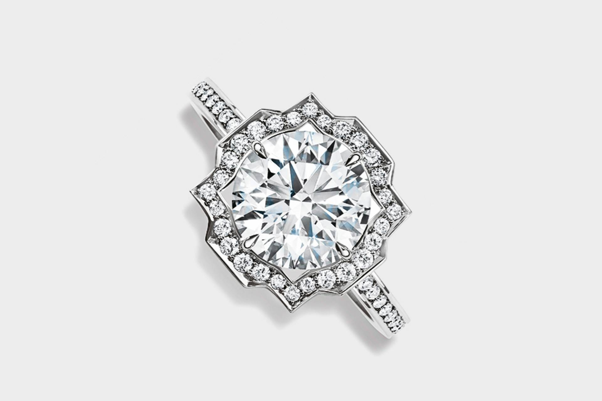 Five Of The Best Engagement Rings | Square Mile Within Harry Winston Engagement Rings (View 4 of 15)