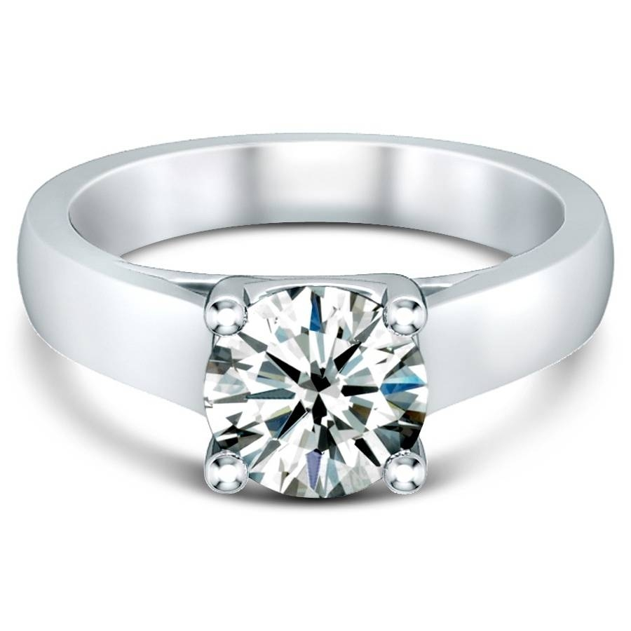 Free Diamond Rings. Flat Diamond Engagement Rings: Flat Diamond Pertaining To Flat Engagement Rings (Gallery 5 of 15)