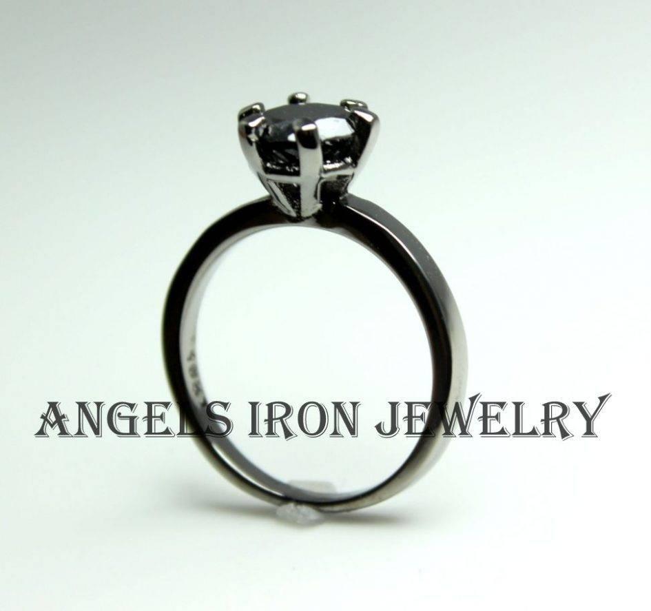 Free Diamond Rings: Gothic Diamond Engagement Rings Gothic Black Within Gothic Engagement Rings For Women (View 5 of 15)