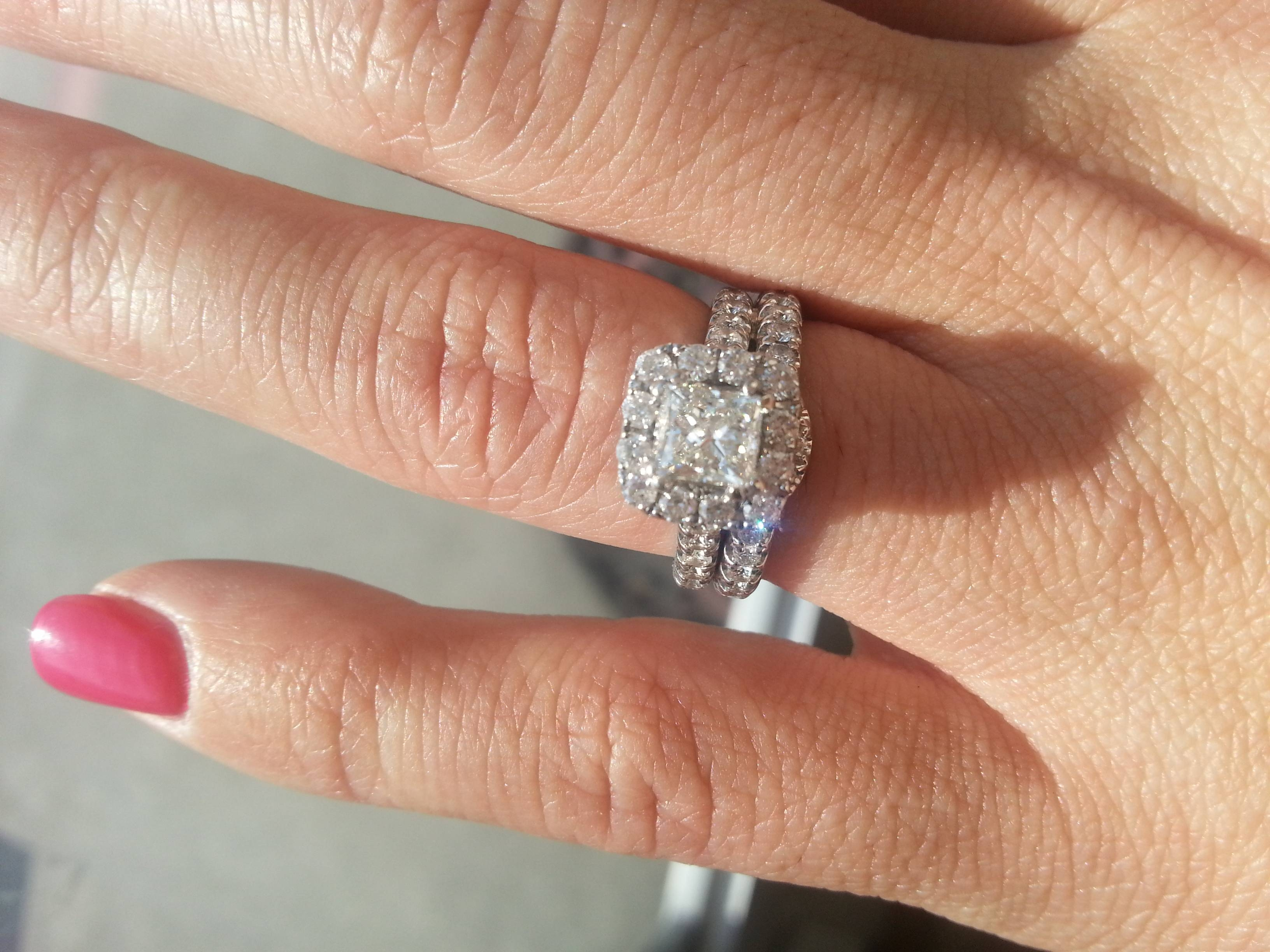 Free Diamond Rings. Size 4 Diamond Engagement Rings: Size 4 With Size 4 Diamond Engagement Rings (Gallery 14 of 15)