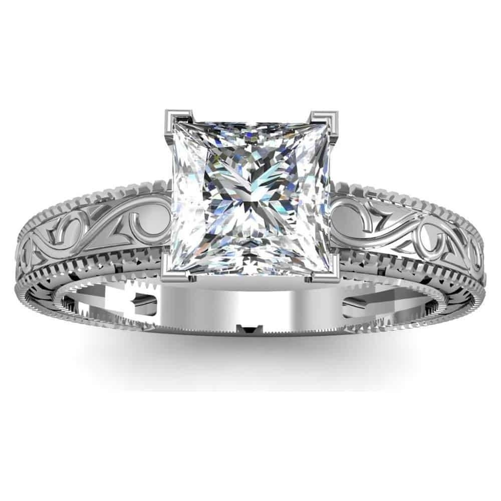 Wedding ring settings without diamonds best 28 images for Diamond wedding ring settings