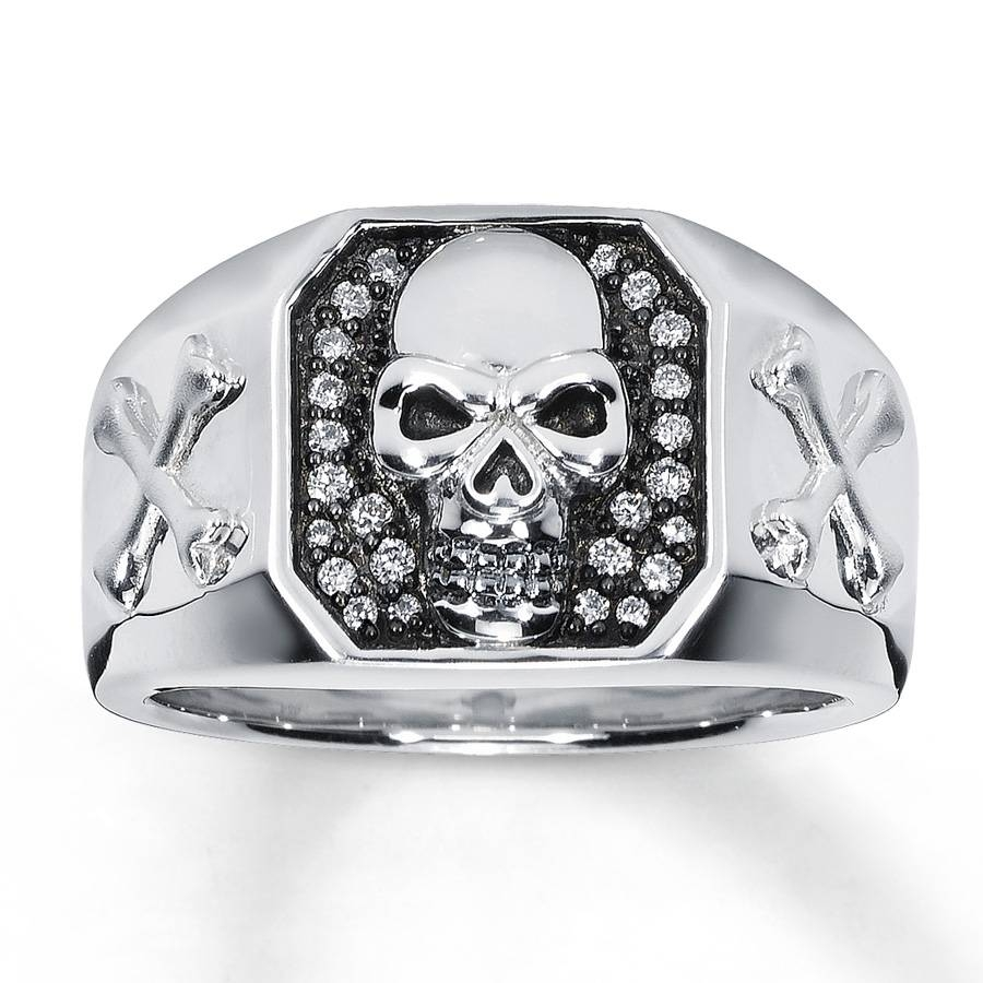 15 Ideas of Mens Skull Wedding Bands