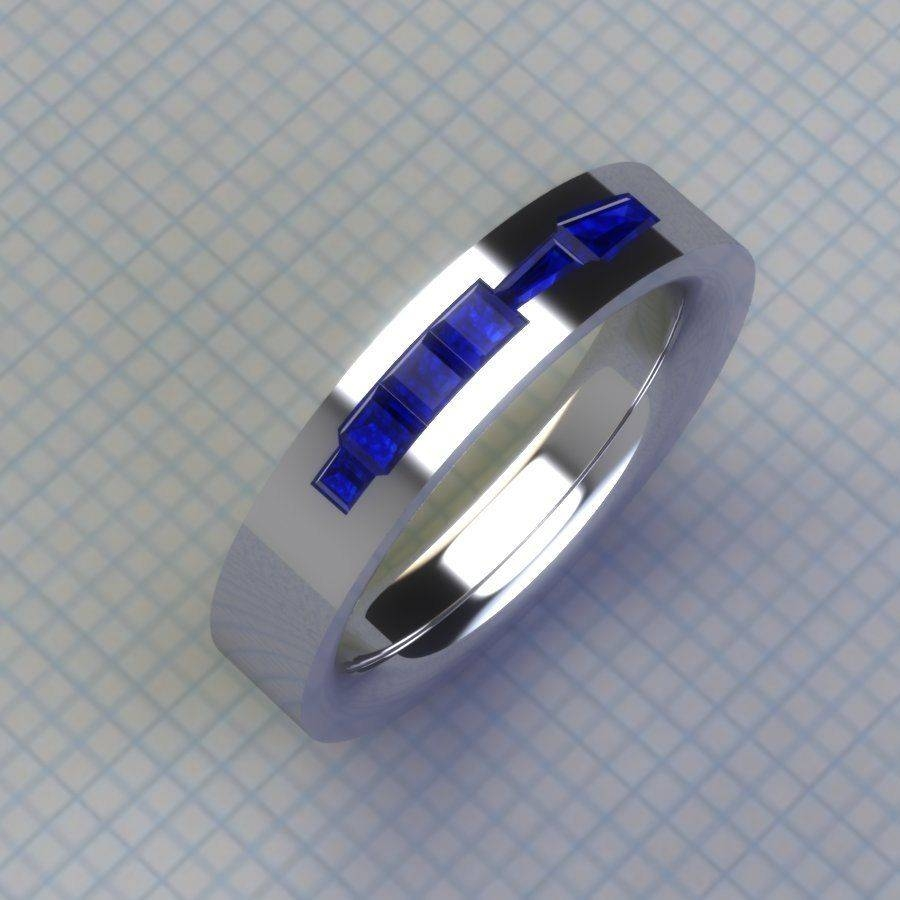 Geeky Rings | Custommade Pertaining To Anime Wedding Rings (View 6 of 15)