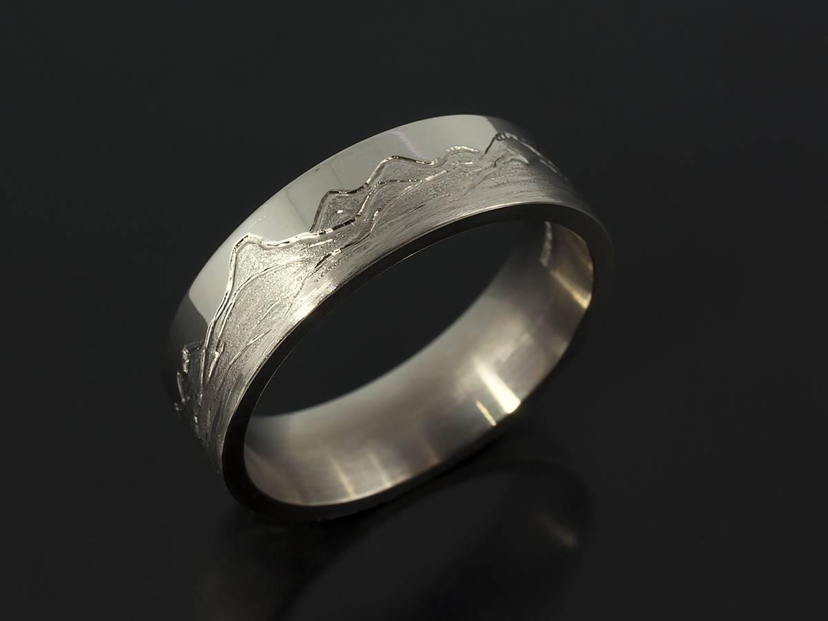 Gents Wedding Ring – Unique And Bespoke Designs For Inspiration Throughout Mens Scottish Wedding Bands (View 3 of 15)