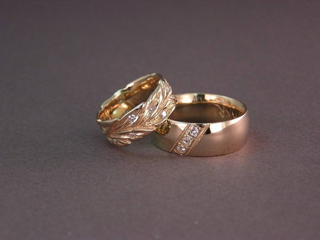 Gold Engagement Rings Gold Engagement Rings For Couple | In Italy For Engagement Gold Rings For Couples (View 5 of 15)