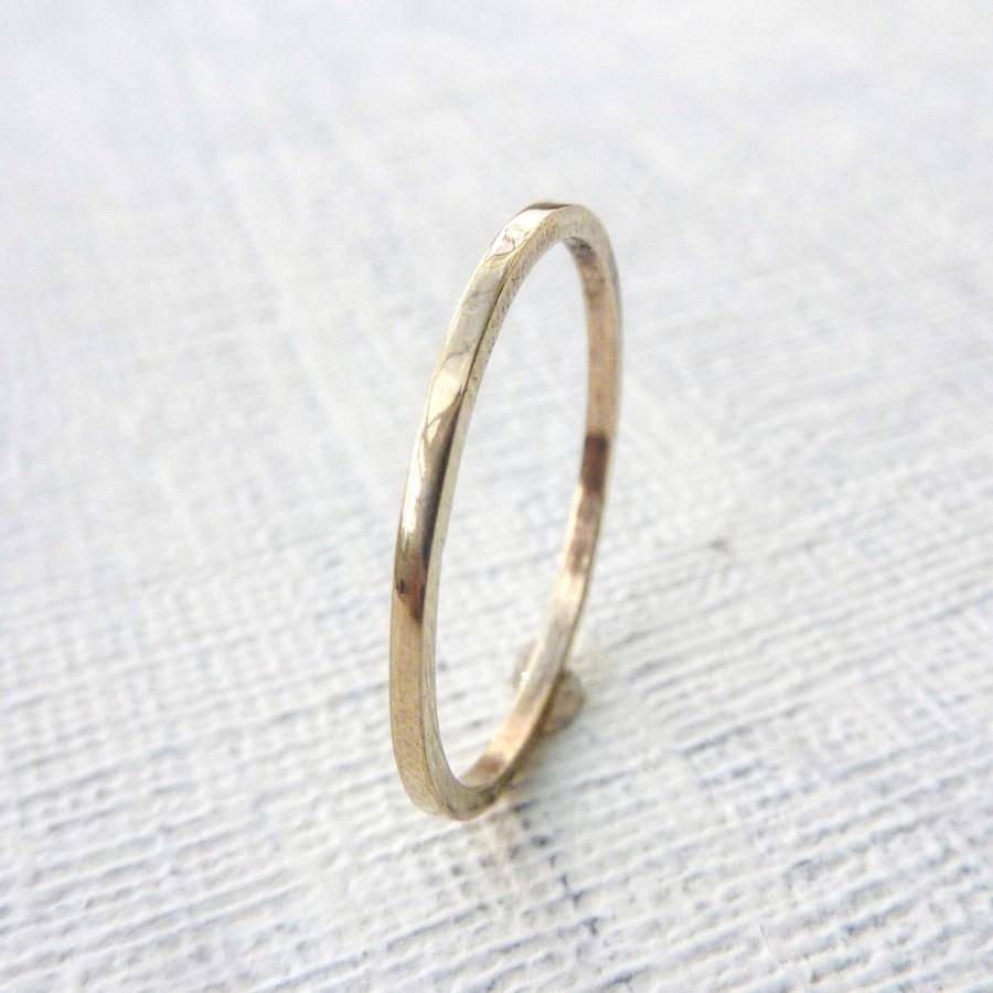 Gold Wedding Band. Gold Wedding Ring. Wedding Band (View 7 of 15)