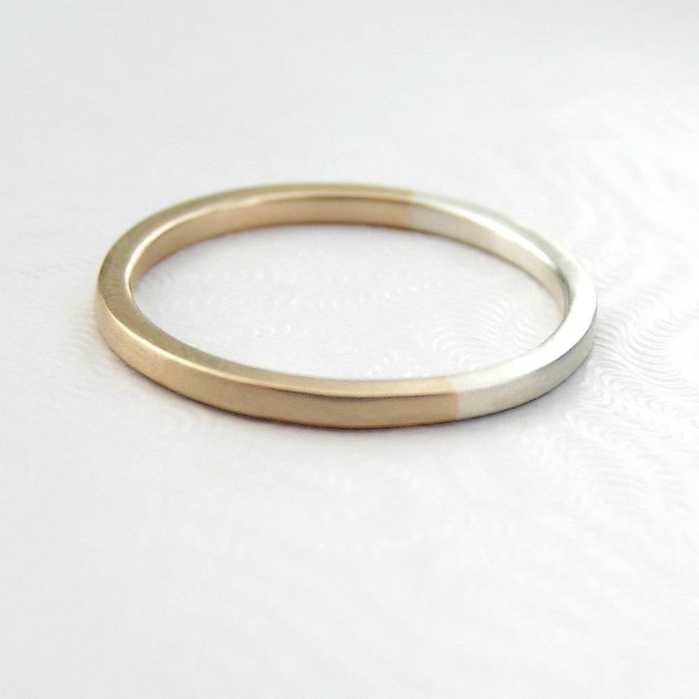 Golden Ratio Ring Gift Or Thin Wedding Band For Math Lovers Pertaining To Thin Wedding Rings (View 5 of 15)