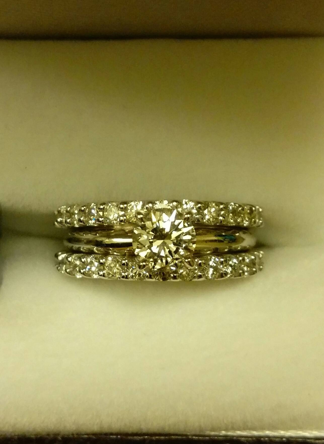 diamond fine band collection four andres shank multiple with rings engagement classic prong sylvie ring a split
