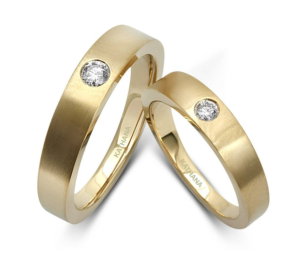 Grr Yellowgoldcouplebandsforcouple | In Italy Wedding Intended For Engagement Rings For Couples In Gold (View 10 of 15)