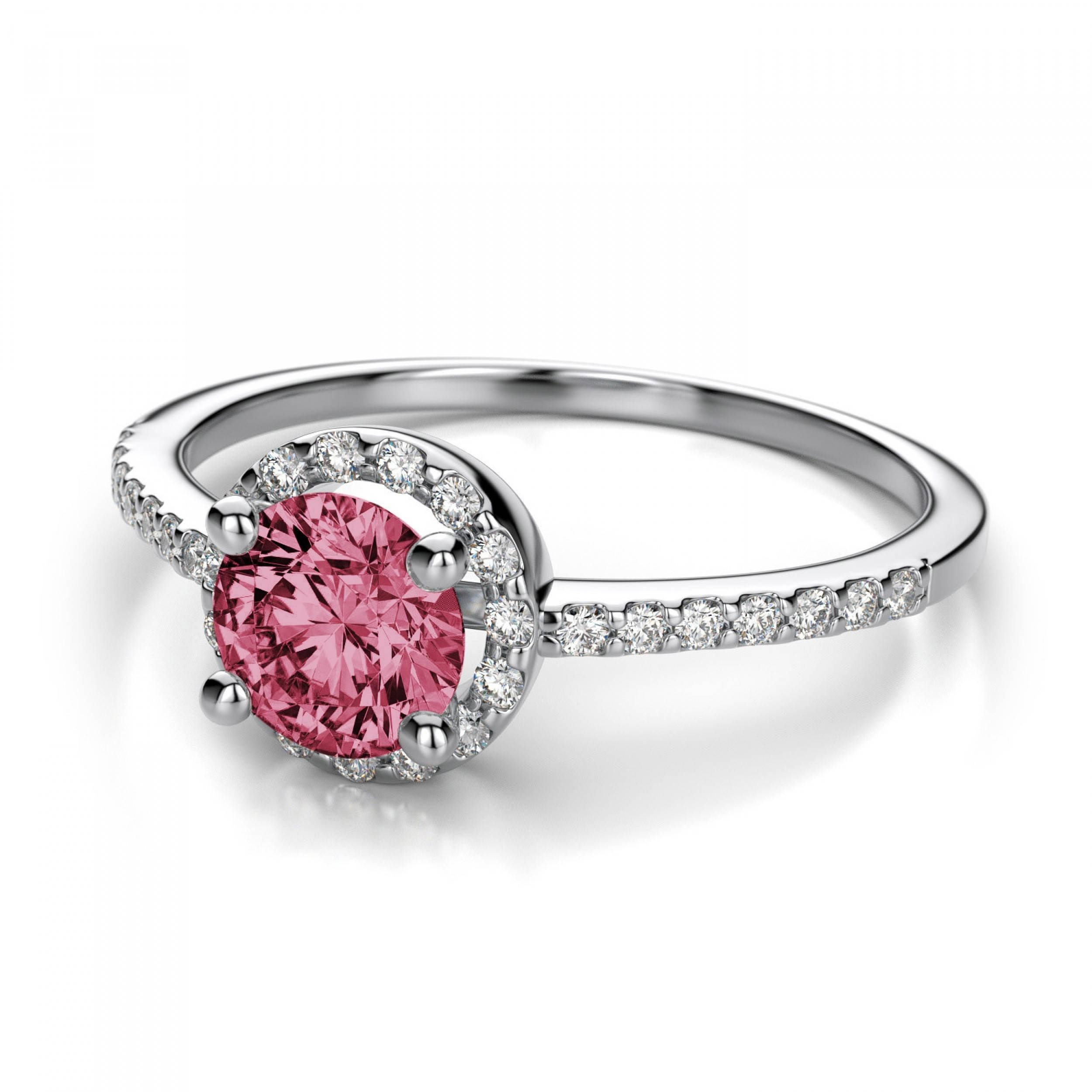 Featured Photo of Pink Sapphire Engagement Rings