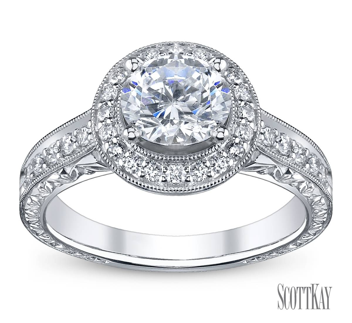 Featured Photo of Halo Diamond Wedding Rings
