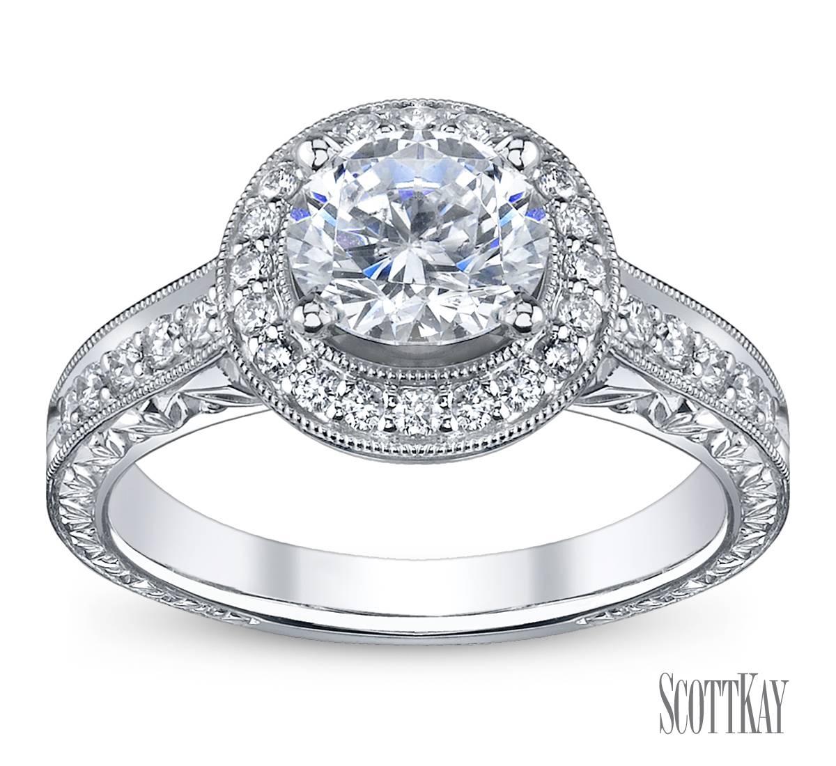 Featured Photo of Halo Diamond Wedding Rings