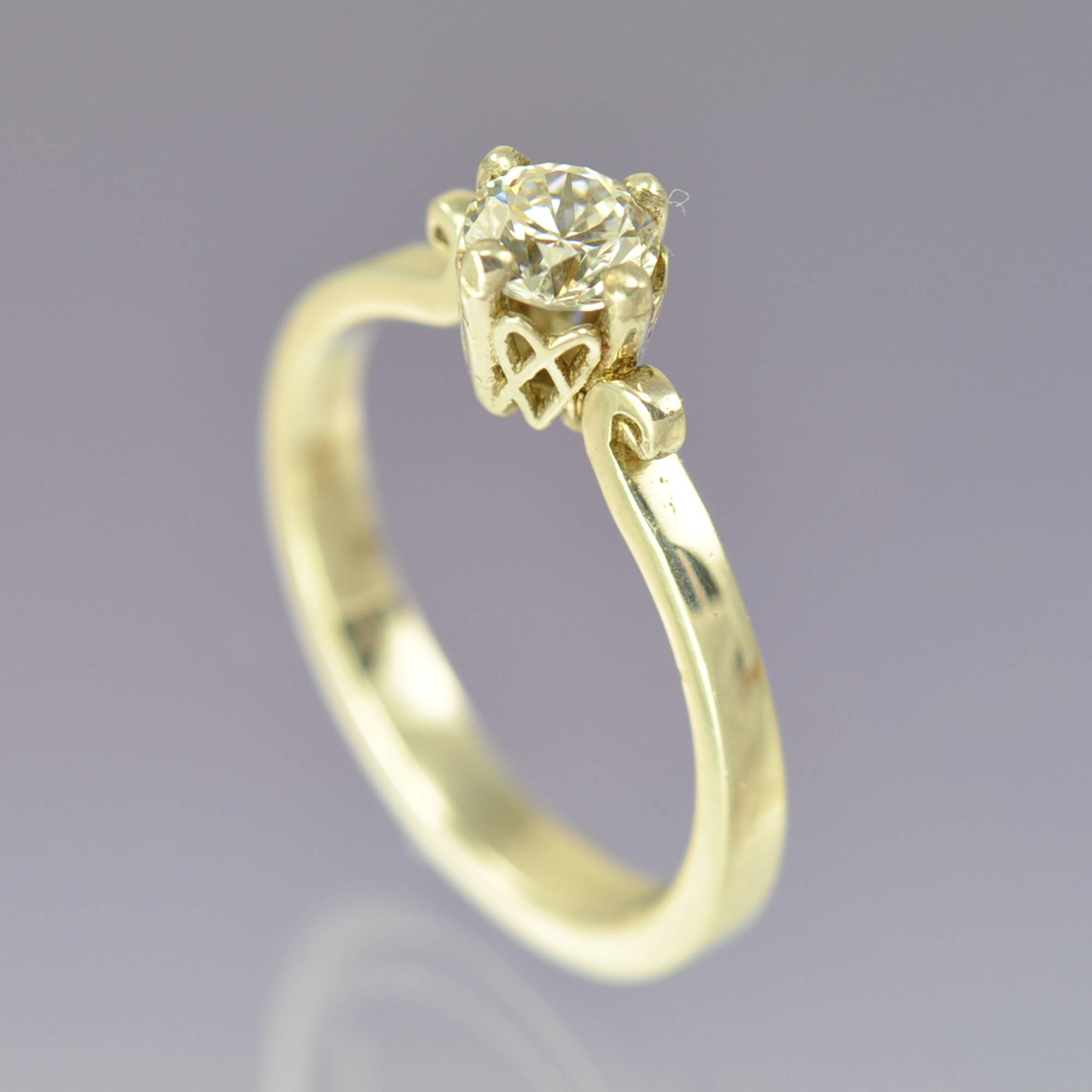 Handmade Diamond Engagement Ring – Celtic | Chris Parry – Uk Pertaining To Hand Made Engagement Rings (View 7 of 15)
