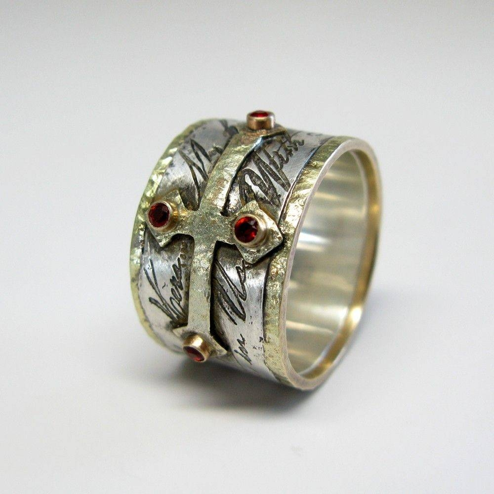 Handmade Mens Custom Wedding Ringjanice Art Jewelry Within Mens Custom Wedding Rings (View 2 of 15)