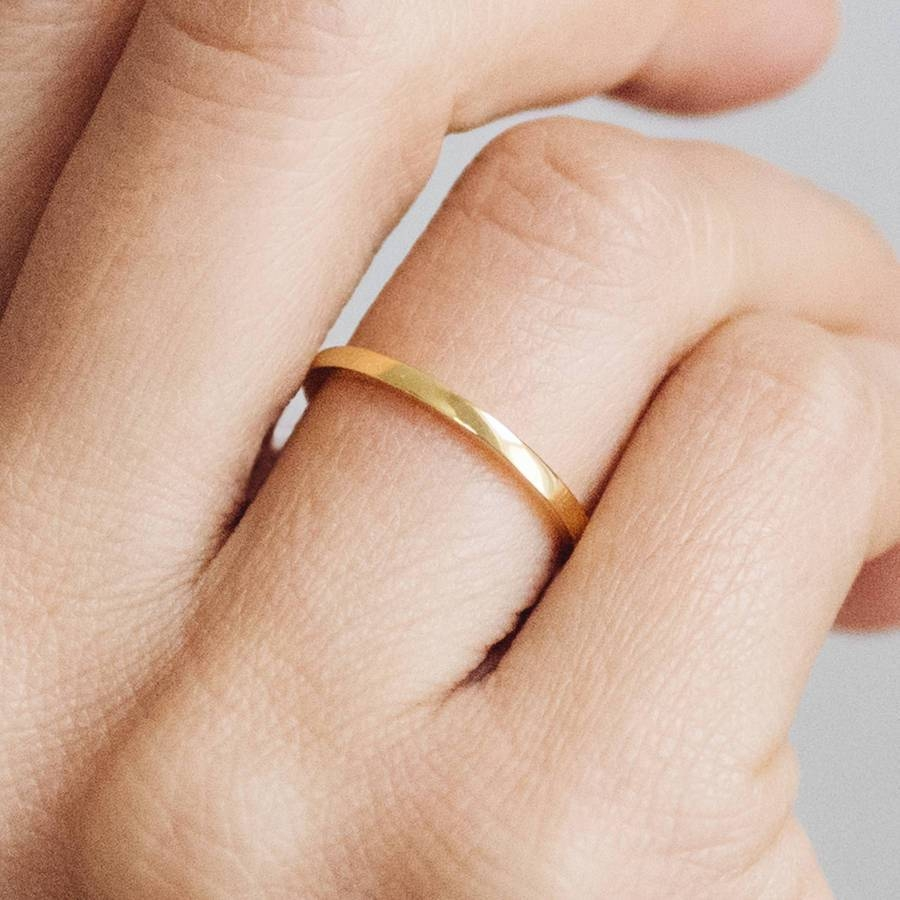 Featured Photo of Thin Wedding Rings
