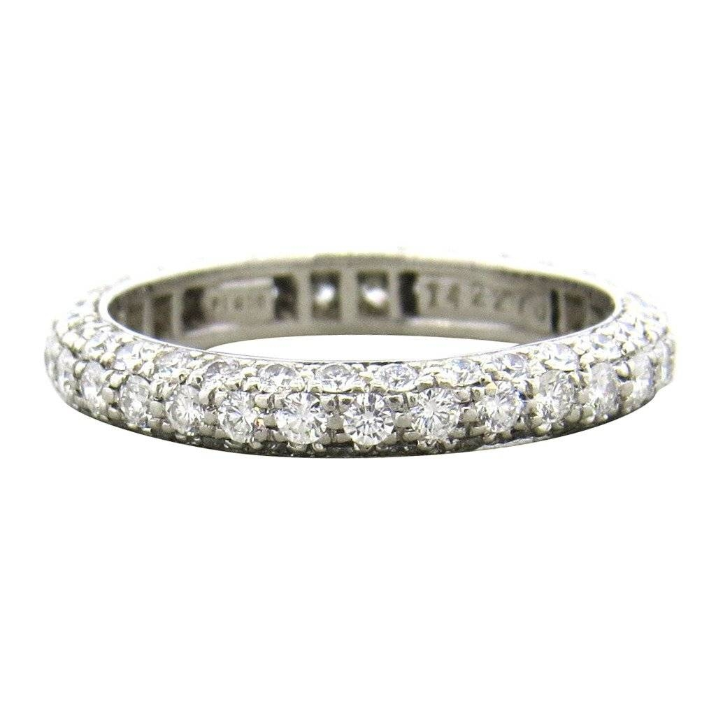 Harry Winston Diamond Platinum Wedding Band Ring At 1Stdibs Intended For Harry Winston Men Wedding Bands (View 3 of 15)