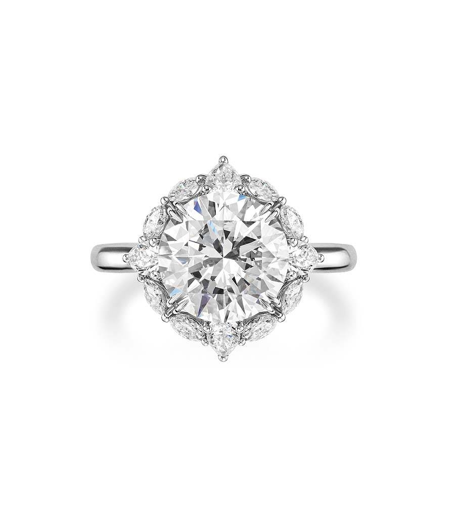 Harry Winston Engagement Ring Belle – Harry Winston Engagement Regarding Harry Winston Belle Engagement Rings (View 11 of 15)