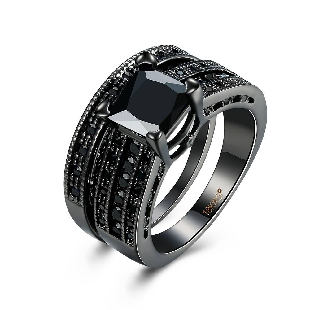 High Quality Black Onyx Wedding Bands Buy Cheap Black Onyx Wedding Intended For Black Onyx Wedding Bands (View 2 of 15)