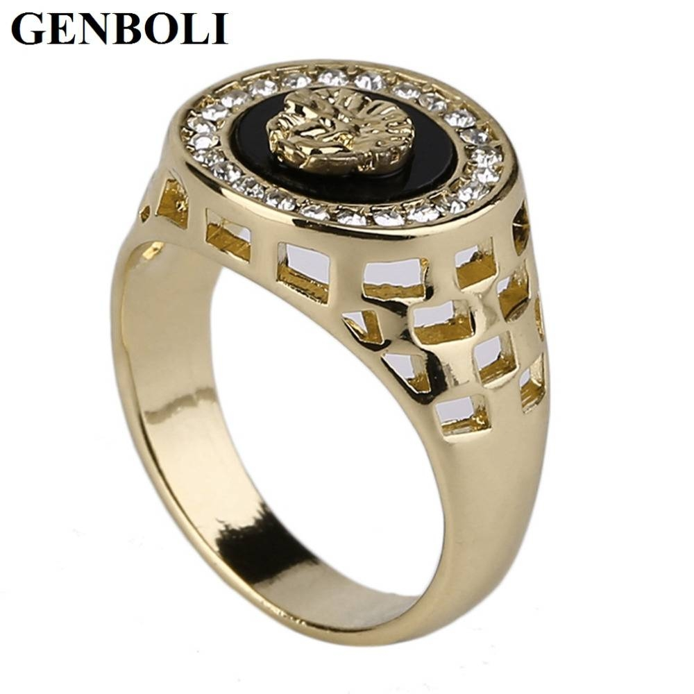 High Quality Wholesale Gold Plated Men Designer Ring From China Inside Special Design Wedding Rings (View 4 of 15)