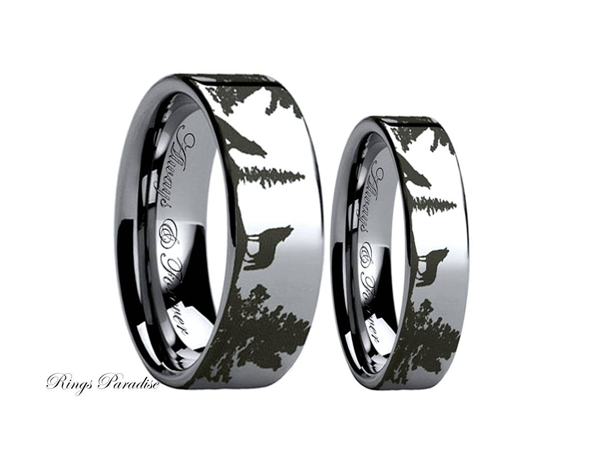 His And Hers Promise Rings | Wedding, Promise, Diamond, Engagement With Tungsten Wedding Bands Sets His And Hers (View 7 of 15)