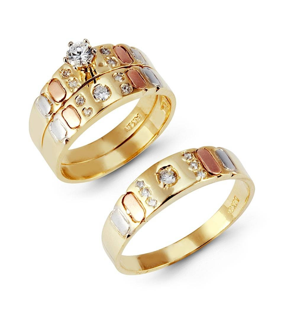 Featured Photo of Cheap Yellow Gold Wedding Rings