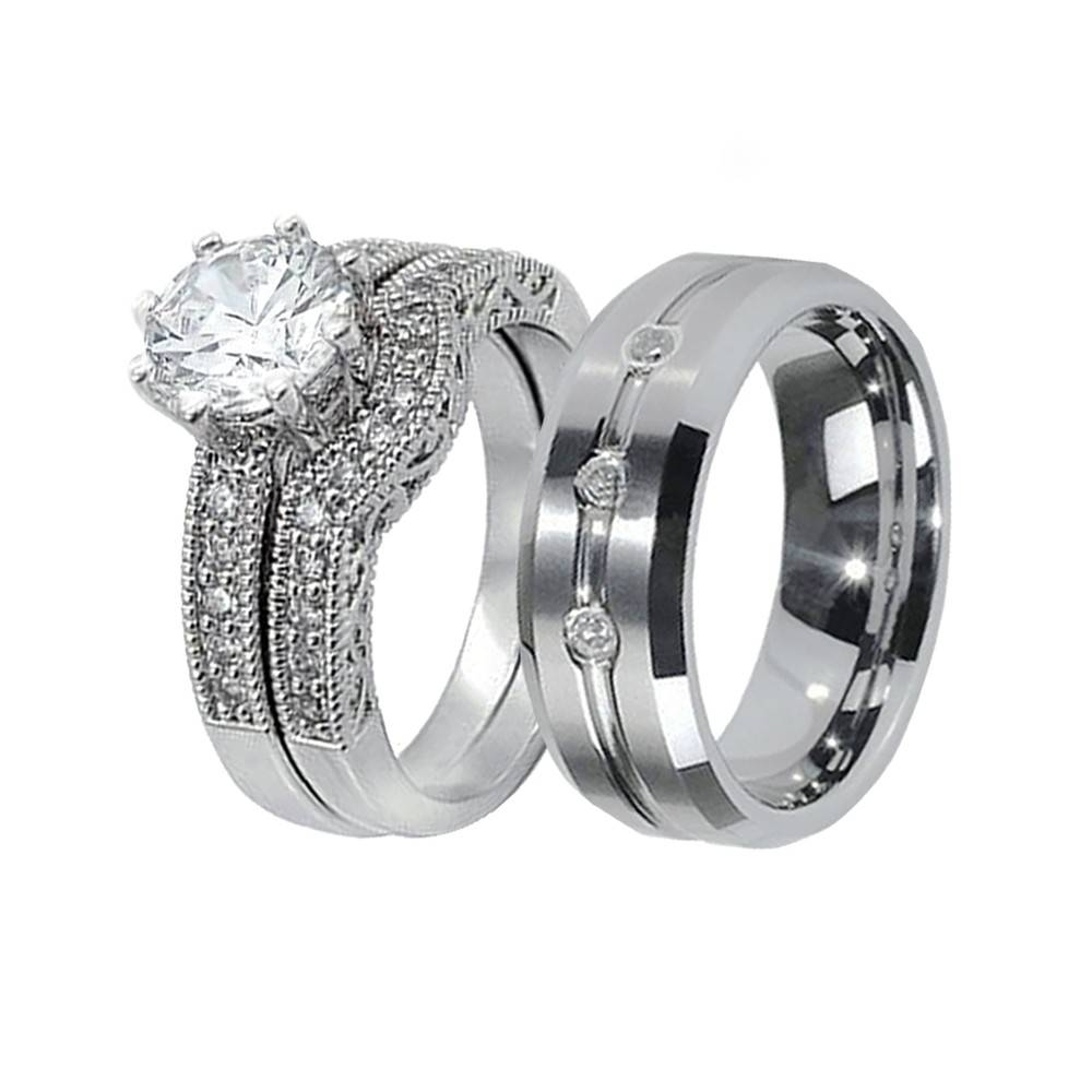 His & Hers Wedding Ring Sets – Www (View 5 of 15)