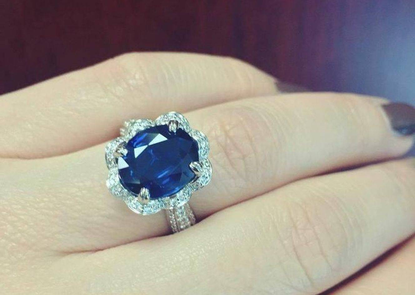 How To Choose A Sapphire Engagement Ring | Ritani Pertaining To Saphire Engagement Rings (View 4 of 15)