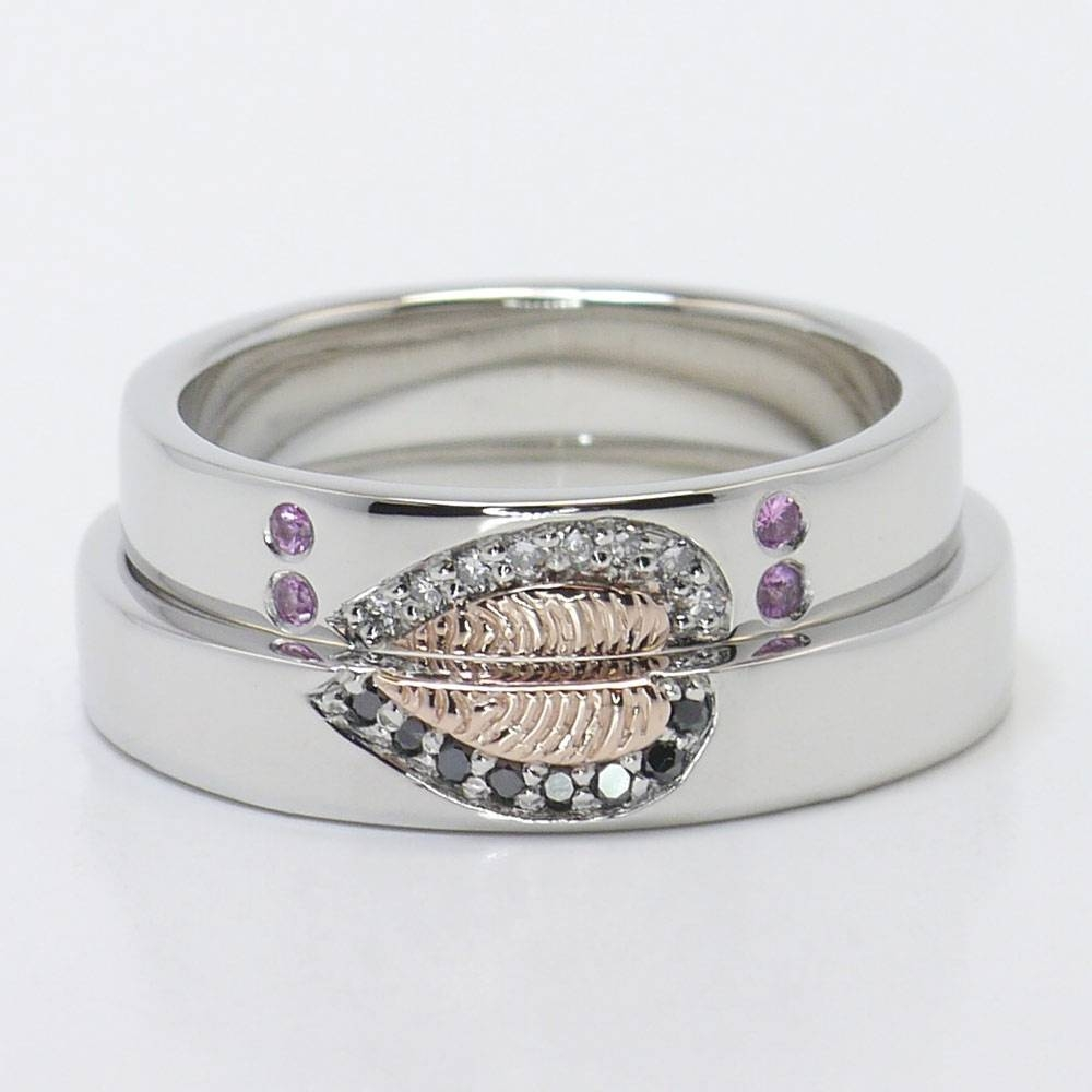 How To Pick Matching Wedding Ring Sets For Him And Her With Matching Engagement Rings For Him And Her (View 9 of 15)