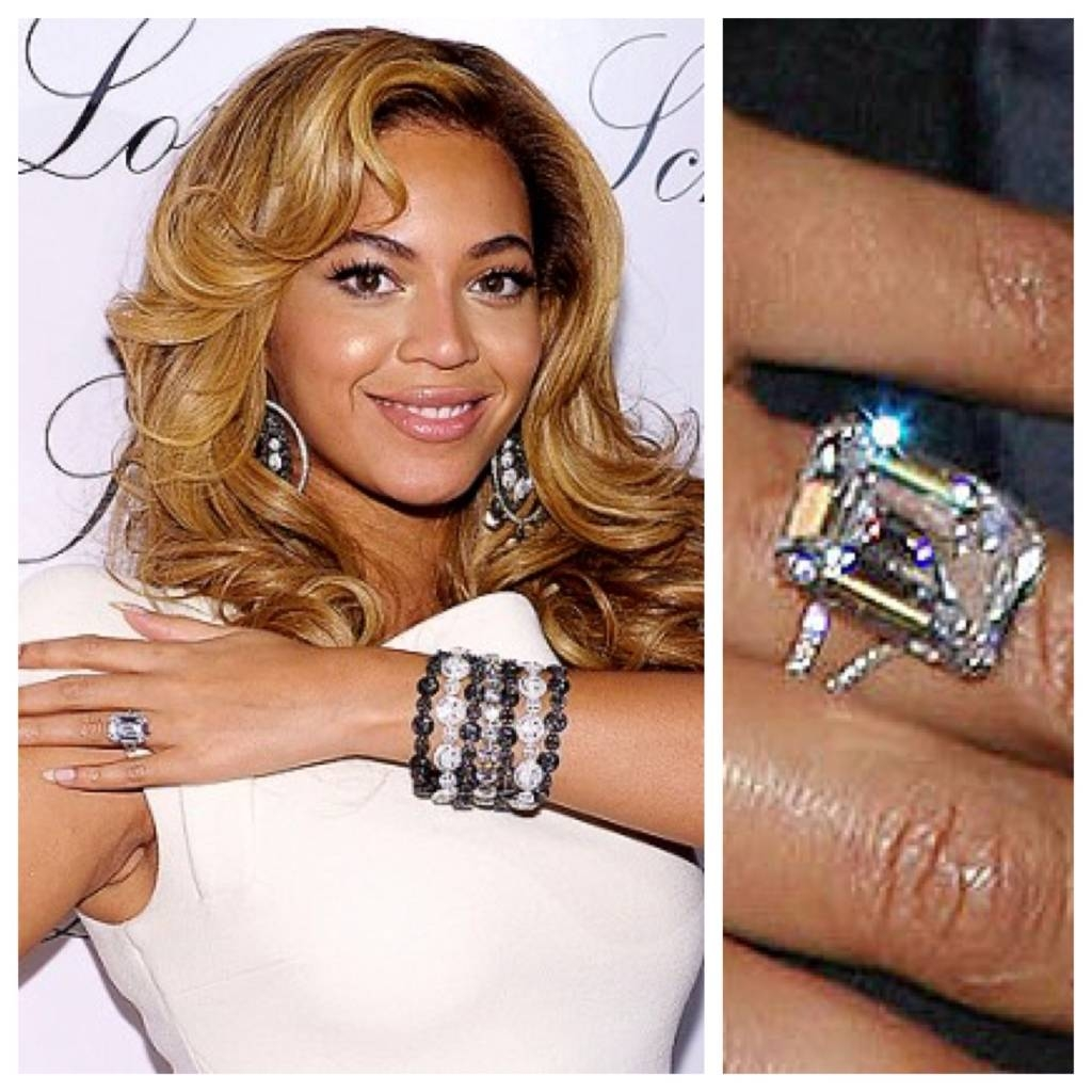 Ideas, Decorations, Jewelry, Dresses For Weddings | Most Luxurious Within Beyonce's Wedding Rings (Gallery 14 of 15)