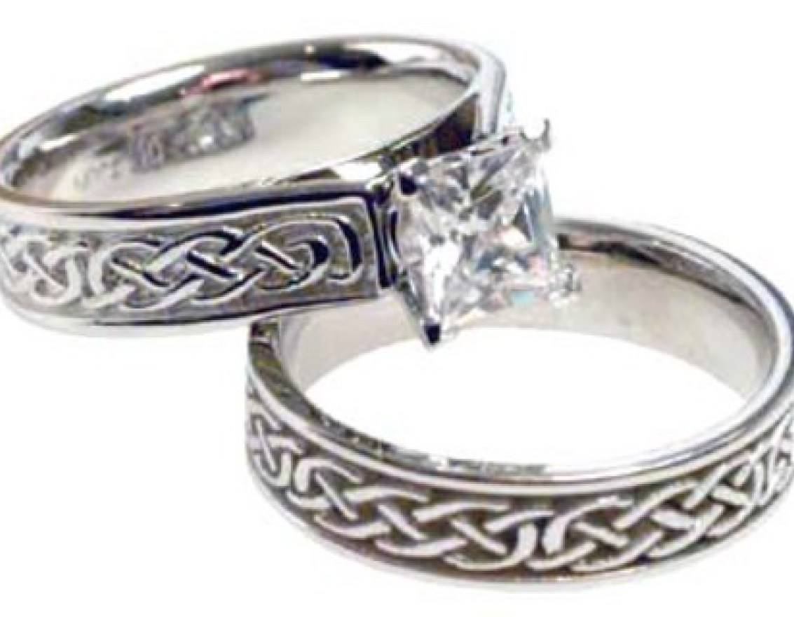 Important Image Of Amazon White Gold Wedding Rings Wow Wedding In Celtic Engagement Rings Under  (View 11 of 15)