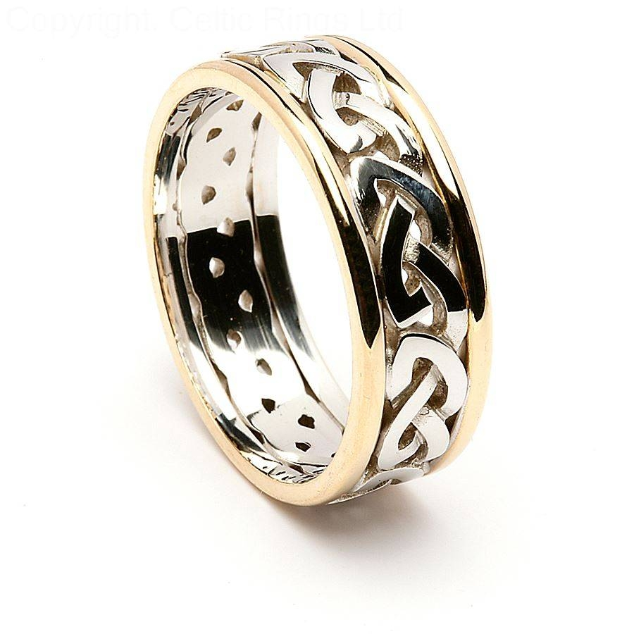 Impressive Decoration Celtic Knot Wedding Rings Irish Wedding In Mens Irish Wedding Rings (View 5 of 15)