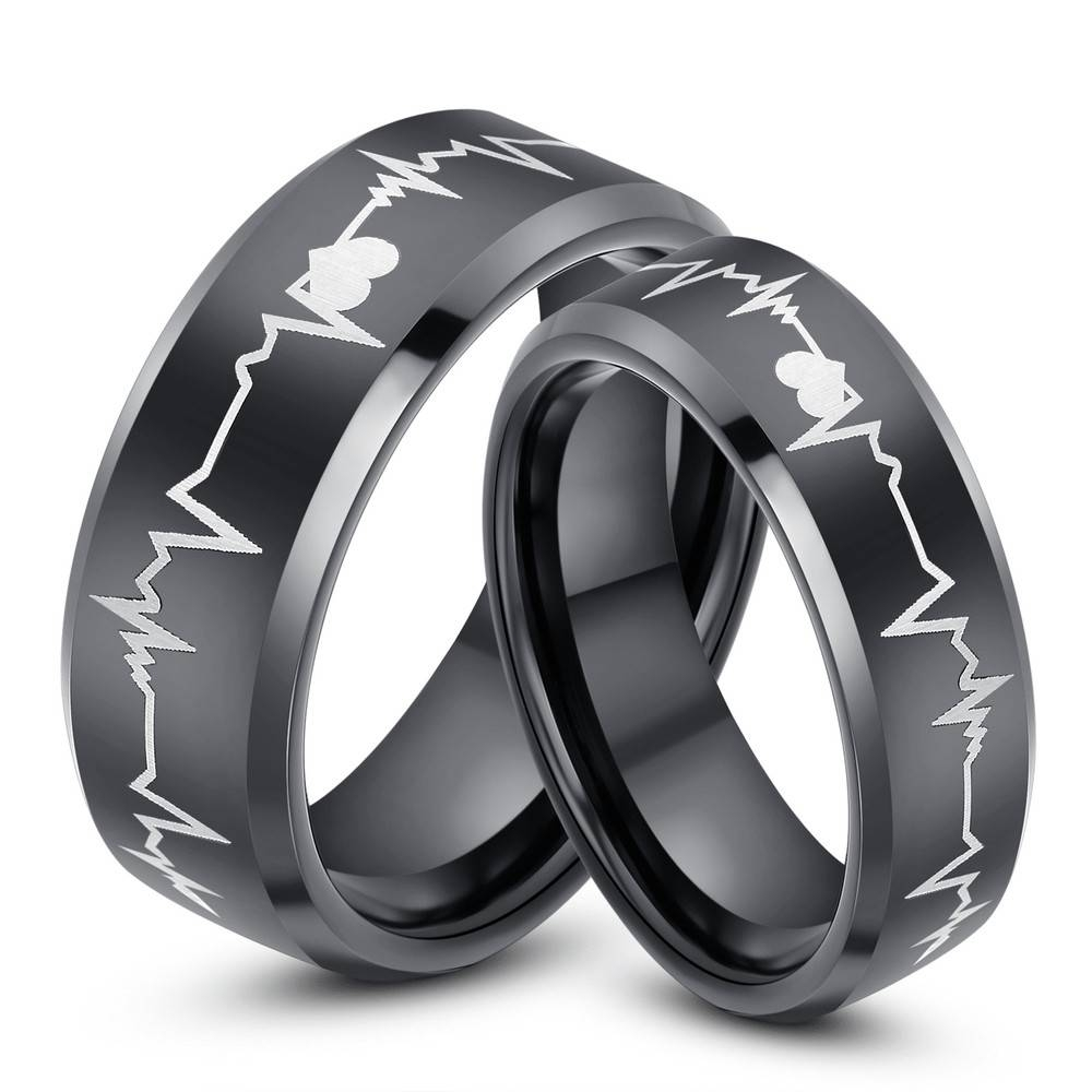 Inspirational: Wedding Bands | Belladeux Events Intended For Tungsten Wedding Bands Sets His And Hers (View 11 of 15)