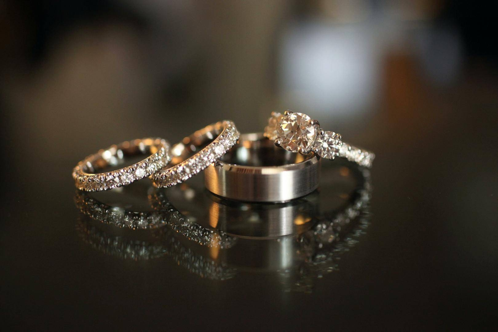 Inspiring Wedding Ring Sets For Brides & Grooms – Inside Weddings Pertaining To Wedding Rings For Bride And Groom Sets (View 11 of 15)