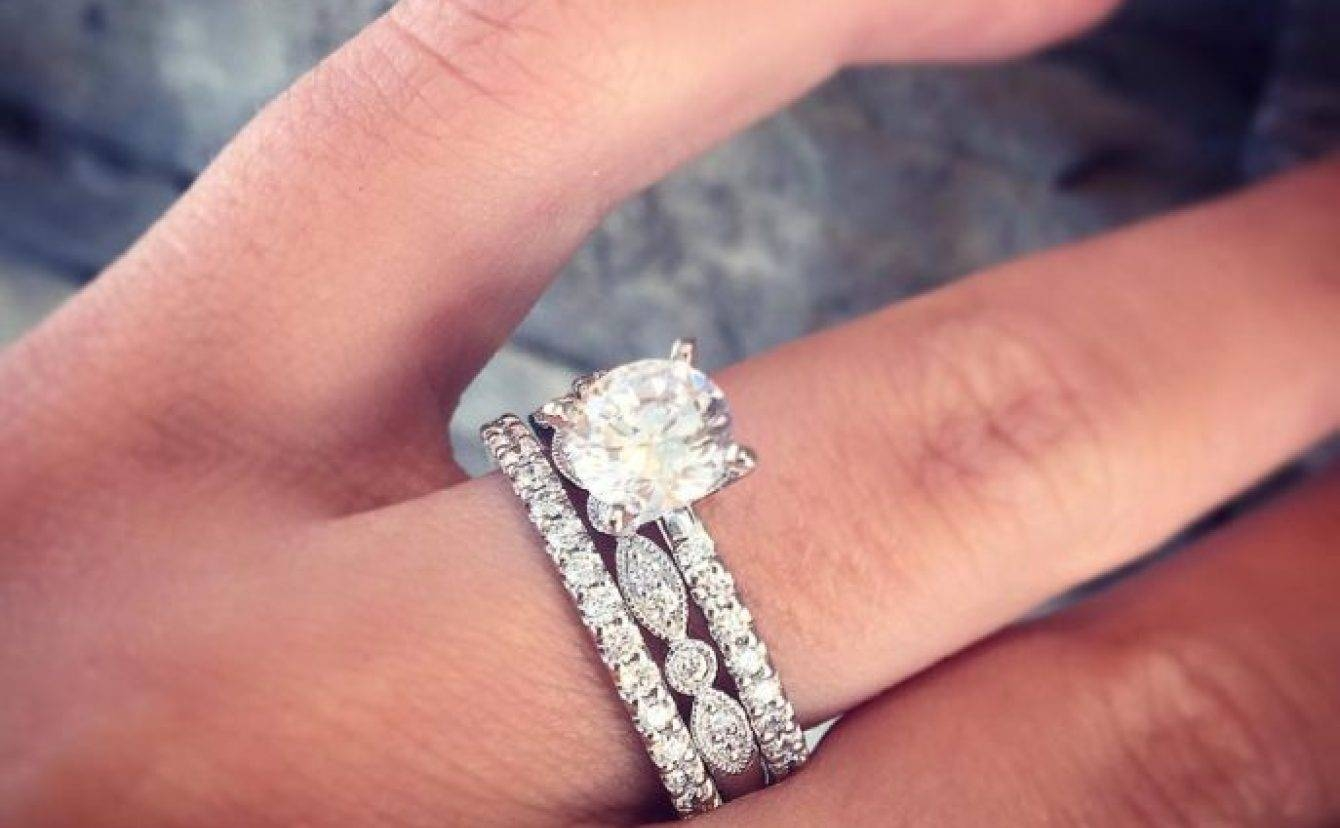 Photo Gallery of Artsy Wedding Rings (Viewing 6 of 15 Photos)