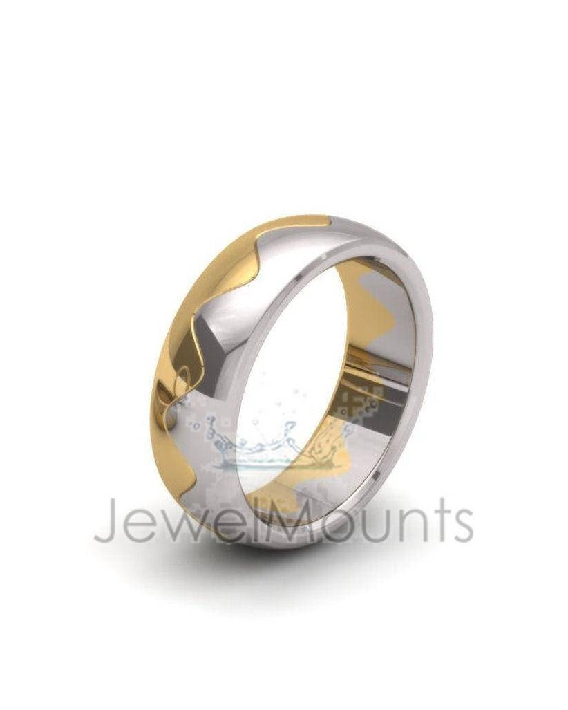 Interlocking Wedding Bands – Rings, Wedding, Fancy – Product With Regard To Interlocking Wedding Bands (View 8 of 15)