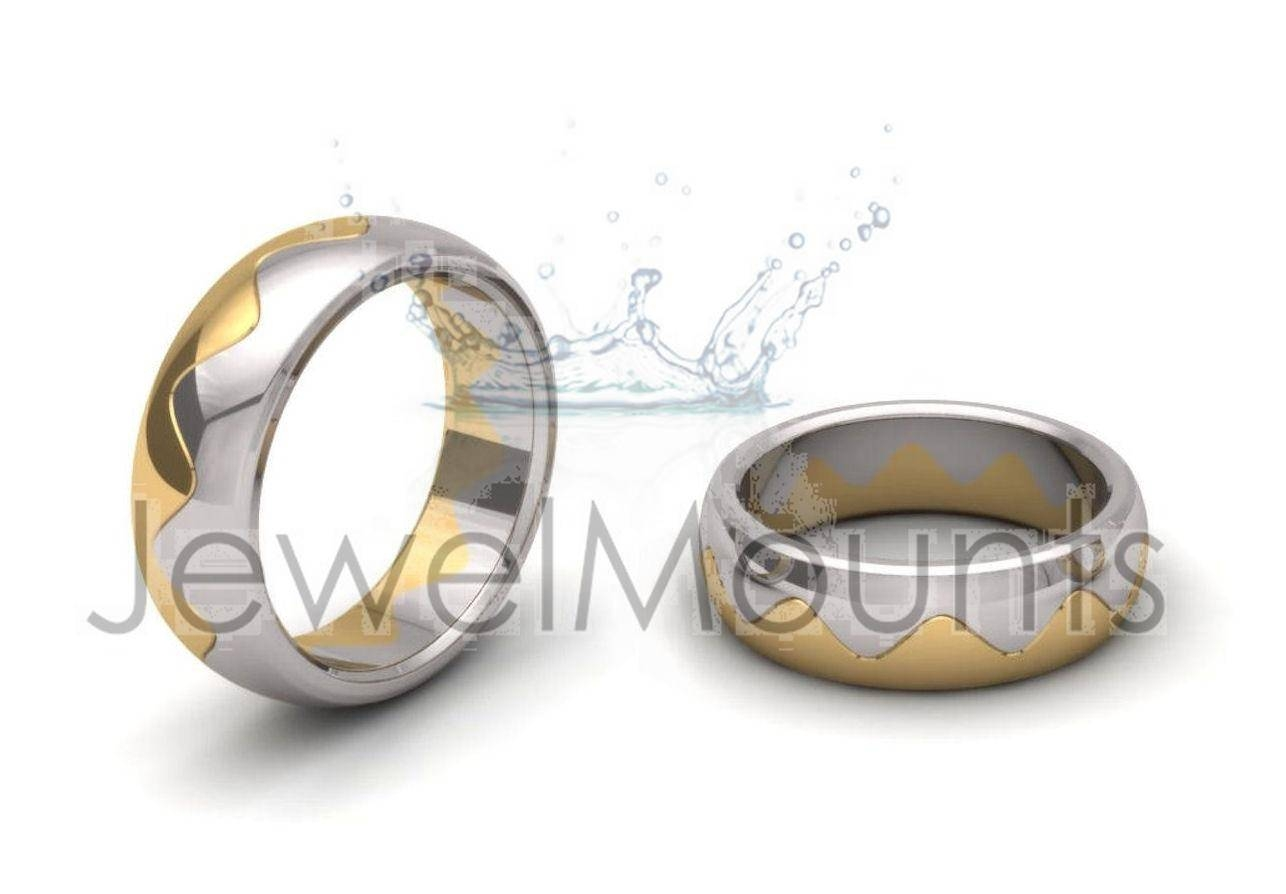 Interlocking Wedding Bands – Rings, Wedding, Fancy – Product Within Interlocking Wedding Bands (View 9 of 15)