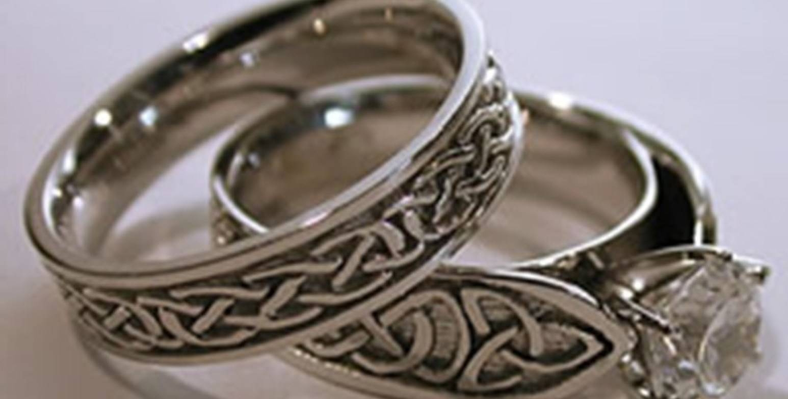 Intriguing Image Of Wedding Rings Set White Gold Fascinate Wedding Throughout Celtic Puzzle Engagement Rings (View 9 of 15)