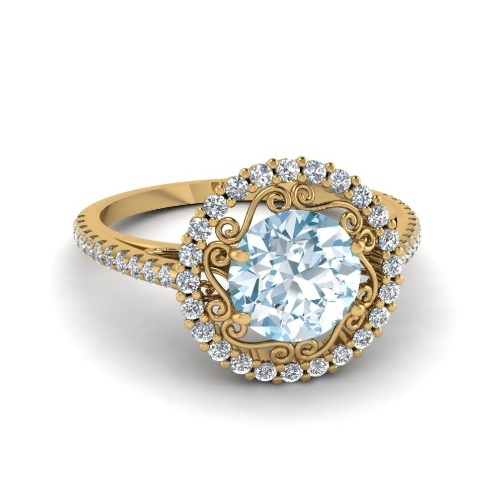 Is Colored Engagement Ring A Fresh Take On The Traditional Sparkle? Intended For Traditional Gold Engagement Rings (View 11 of 15)