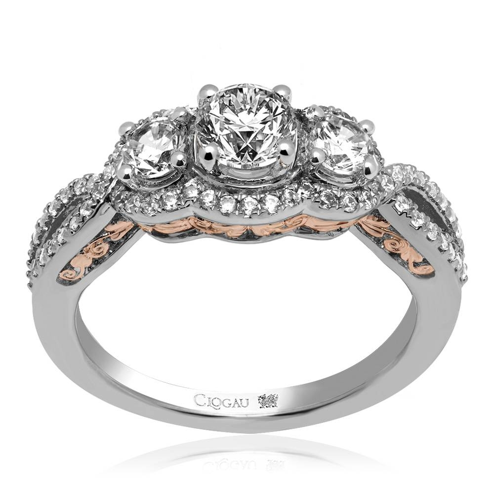 Item Discontinued Bella Engagement Ring *sale* Vwc50vs1hr | Clogau With Regard To Discontinued Engagement Rings (View 13 of 15)
