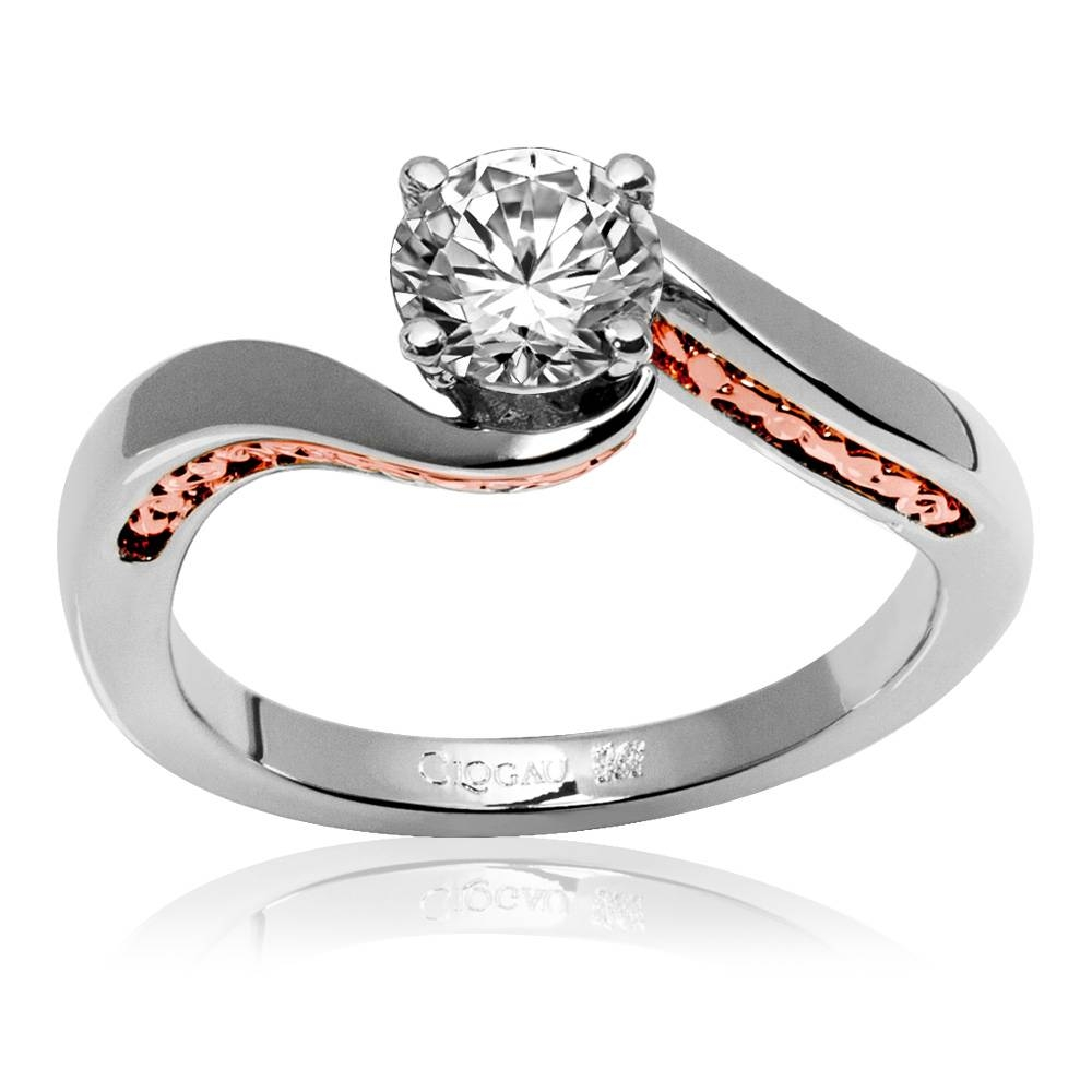 Item Discontinued Eleanor Engagement Ring Vwk50Si1Ir | Clogau Gold Inside Discontinued Engagement Rings (View 7 of 15)
